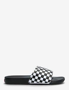 MN La Costa Slide-On - sportshoenen - (checkerboard) truwht/blk