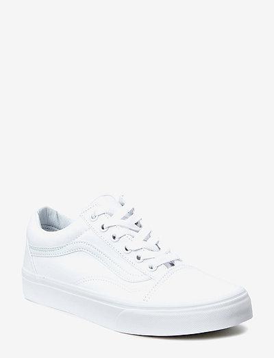UA Old Skool - matalavartiset tennarit - true white