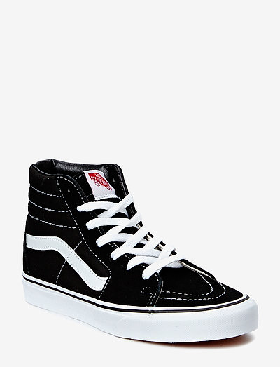 UA SK8-Hi - korkeavartiset tennarit - black/black/white