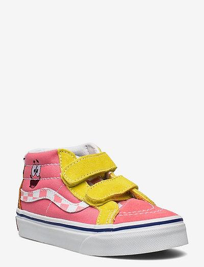 Shoe Youth Unisex Numeric Wid - hoog sneakers - (spongebob) best friends