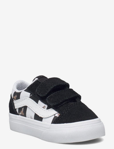 Shoe Toddler Numeric Width - laag sneakers - (bee check)blk/true white