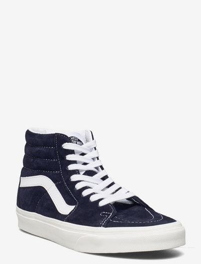 UA SK8-Hi - hoog sneakers - (pig suede)prsnnghtsnwwht