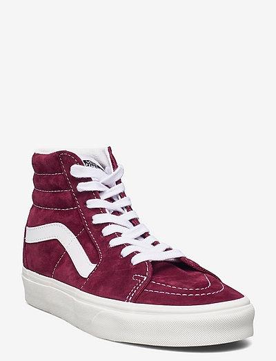 UA SK8-Hi - hoog sneakers - (pig suede)pomegrntsnwwht