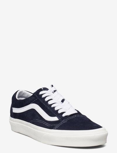 UA Old Skool - laag sneakers - (pig suede)prsnnghtsnwwht