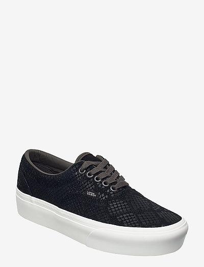 UA Era Platform - lave sneakers - (animal) emboss/black