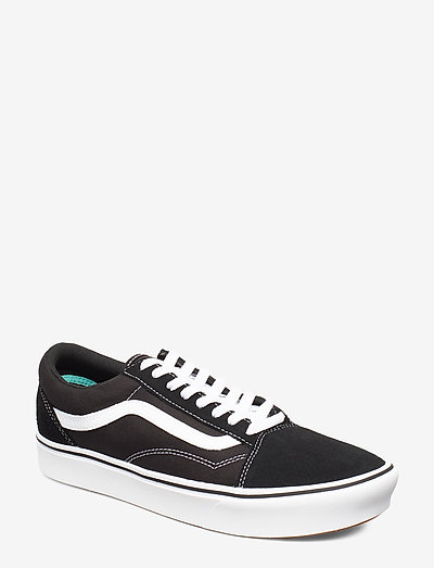 UA ComfyCush Old Skool - lave sneakers - (classic) black/true whit