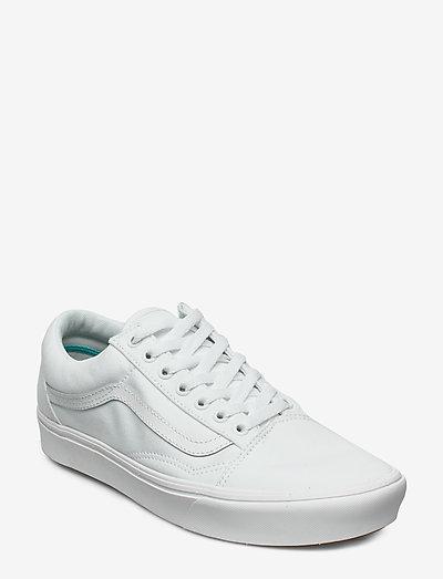 UA ComfyCush Old Skool - lave sneakers - (classic) true white/true