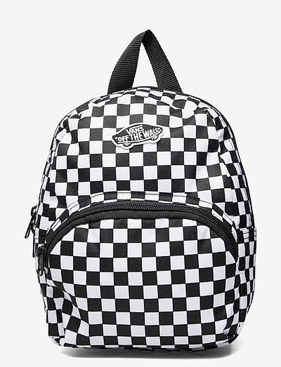 GOT THIS MINI BACKPACK - sportstasker - black/white checkerboard