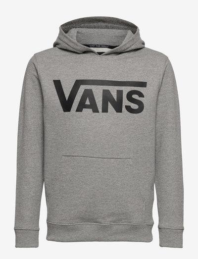 VANS CLASSIC PO II BOYS - kapuzenpullover - cement heather-black