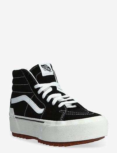 UA SK8-Hi Stacked - høje sneakers - (suedecanvas)blkblncdblnc