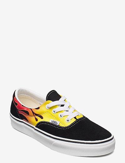 UA Era - lave sneakers - (flame) black/true white