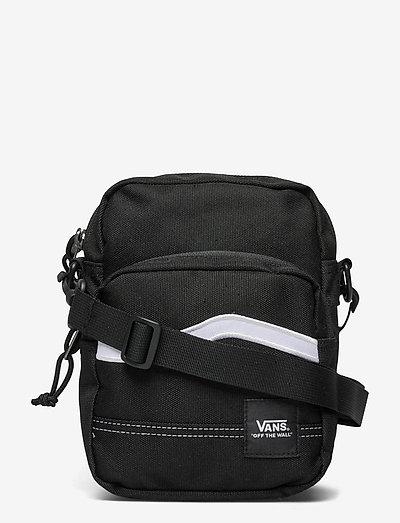 CONSTRUCT SHOULDER BAG - schoudertassen - black/white