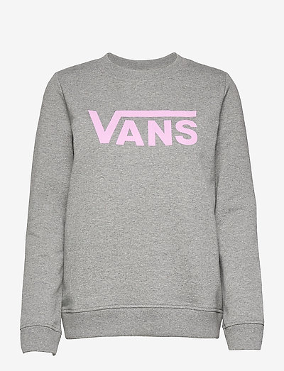 CLASSIC V CREW - sweatshirts - cement heather