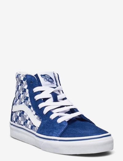 Shoe Junior Numeric Width - hoog sneakers - (vans chkrbrd) trbl/trwht