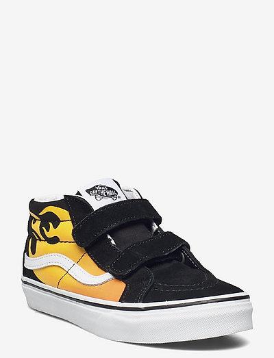 Shoe Junior Numeric Width - hoog sneakers - (hot flame) blk/truewhite