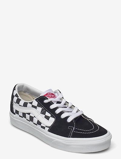 UA SK8-Low - laag sneakers - (canvas/suede)blkchckrbrd