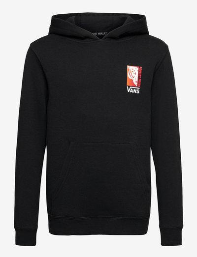 Top Boys Alpha - hoodies - black