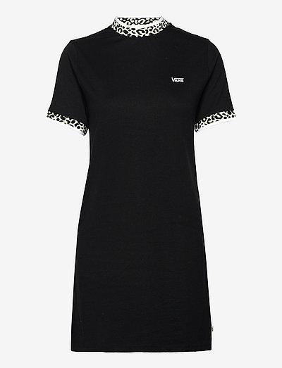 Bottom Womens Alpha - tshirt jurken - black