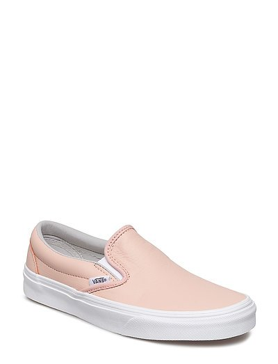 UA Classic Slip-On - (LEATHER) OXFORD/EVENING SAND