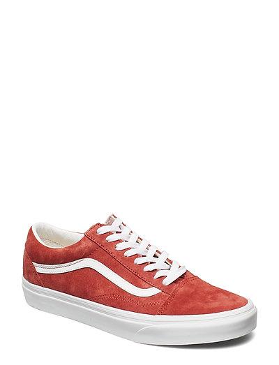 VANS Ua Old Skool Brnt Niedrige Sneaker Rot VANS