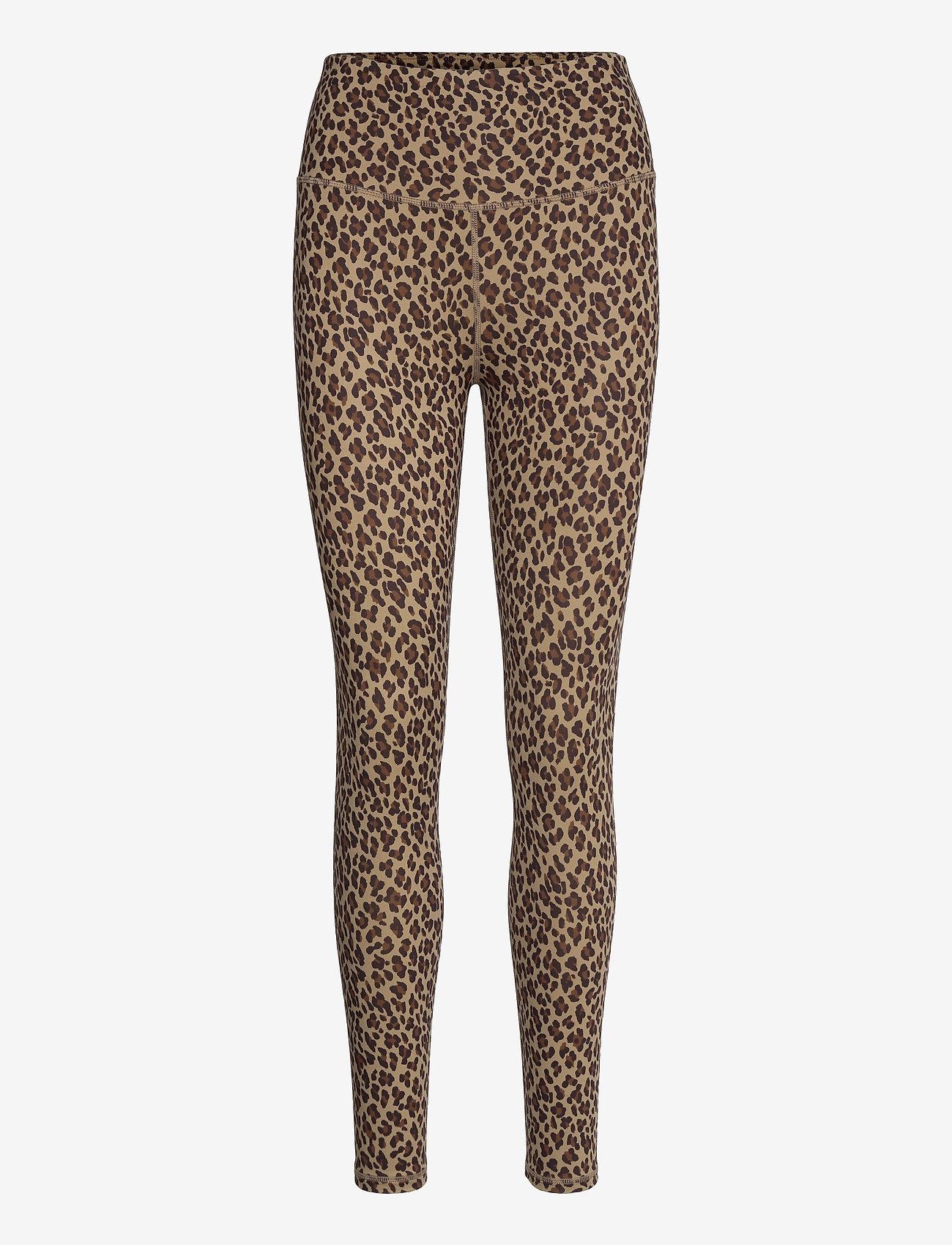 Varley - Century Legging 2.0 - sportleggings - coffee cheetah - 0