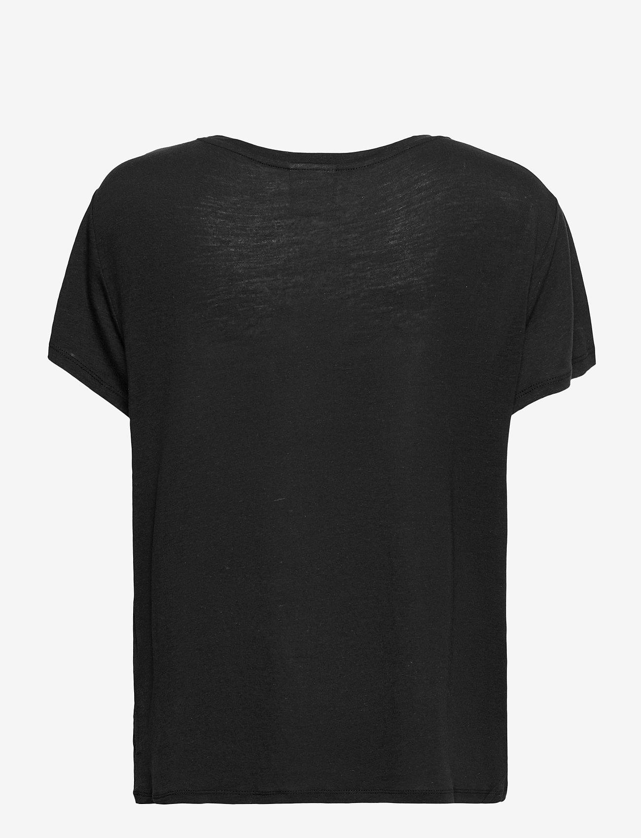 Varley - Tilden Tee 2.0 - t-shirts - black - 1