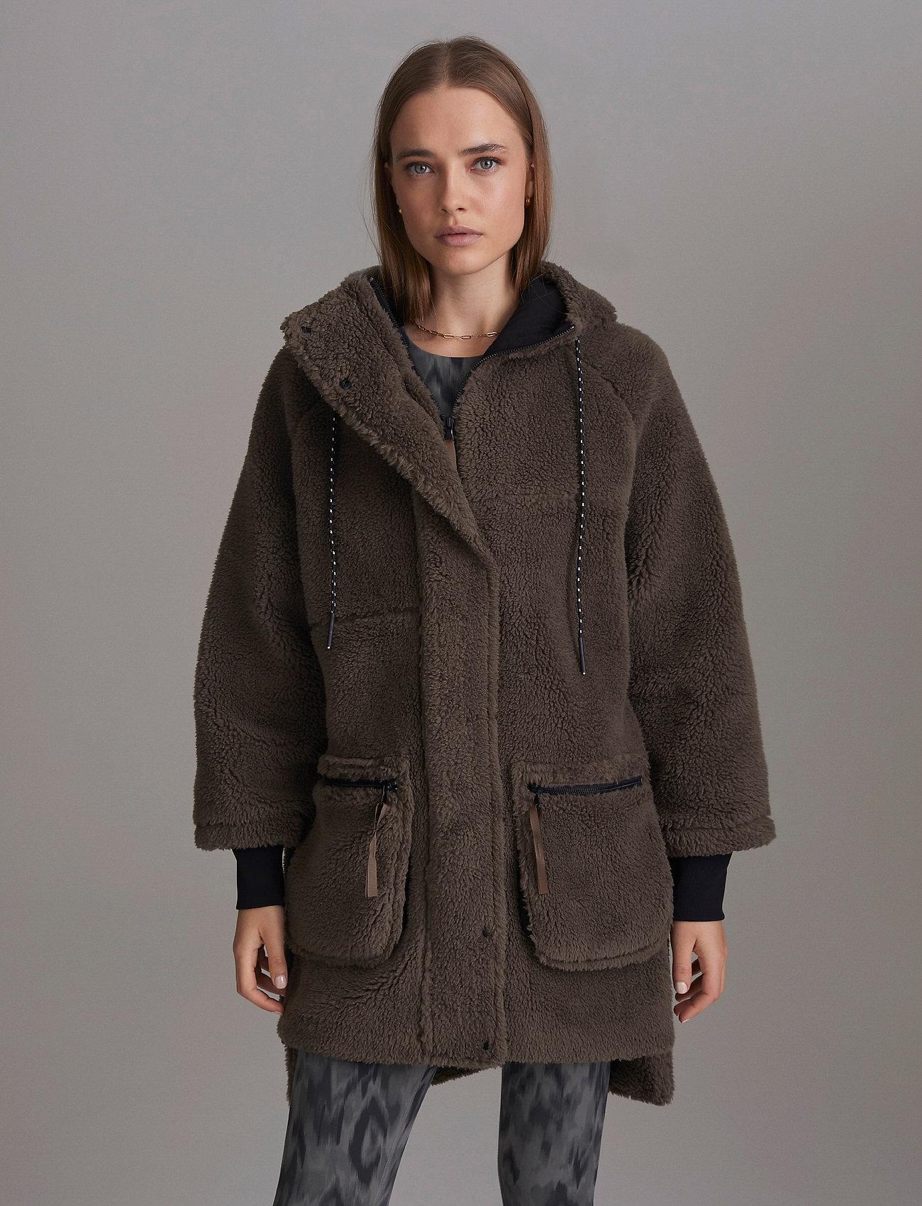 Varley - Midvale Jacket - kunstpelz - morel - 0
