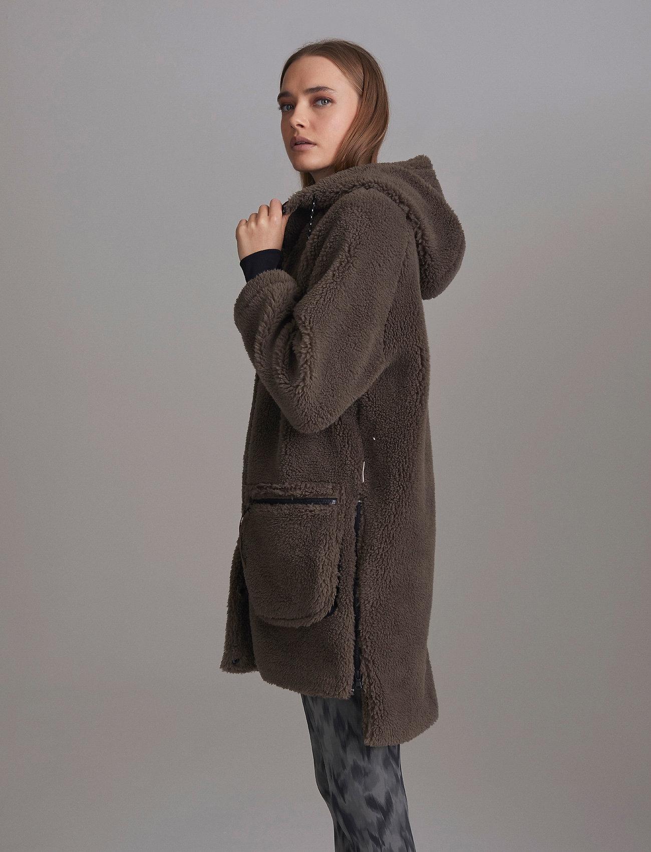 Varley - Midvale Jacket - kunstpelz - morel - 5