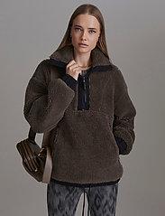 Varley - Appleton Sweat - sweatshirts en hoodies - morel - 0