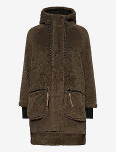 Midvale Jacket - faux fur - morel