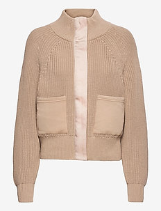 Delfern Jacket - wool jackets - light taupe