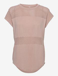 Carley T-Shirt - t-shirty - shadow rose