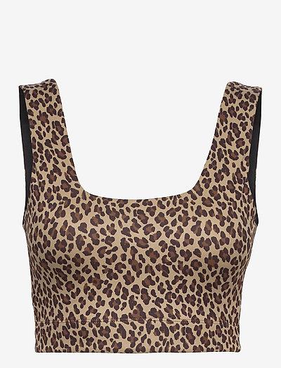 Delta Bra - soutien-gorge souple - coffee cheetah