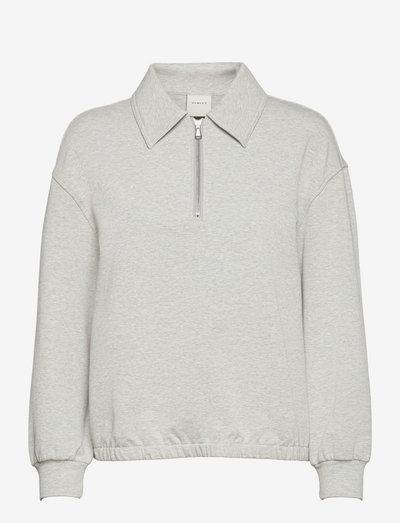 Romero Sweat - blouses met lange mouwen - light grey marl