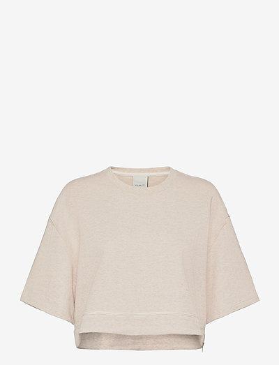 Fenton Sweat - navel shirts - ivory marl