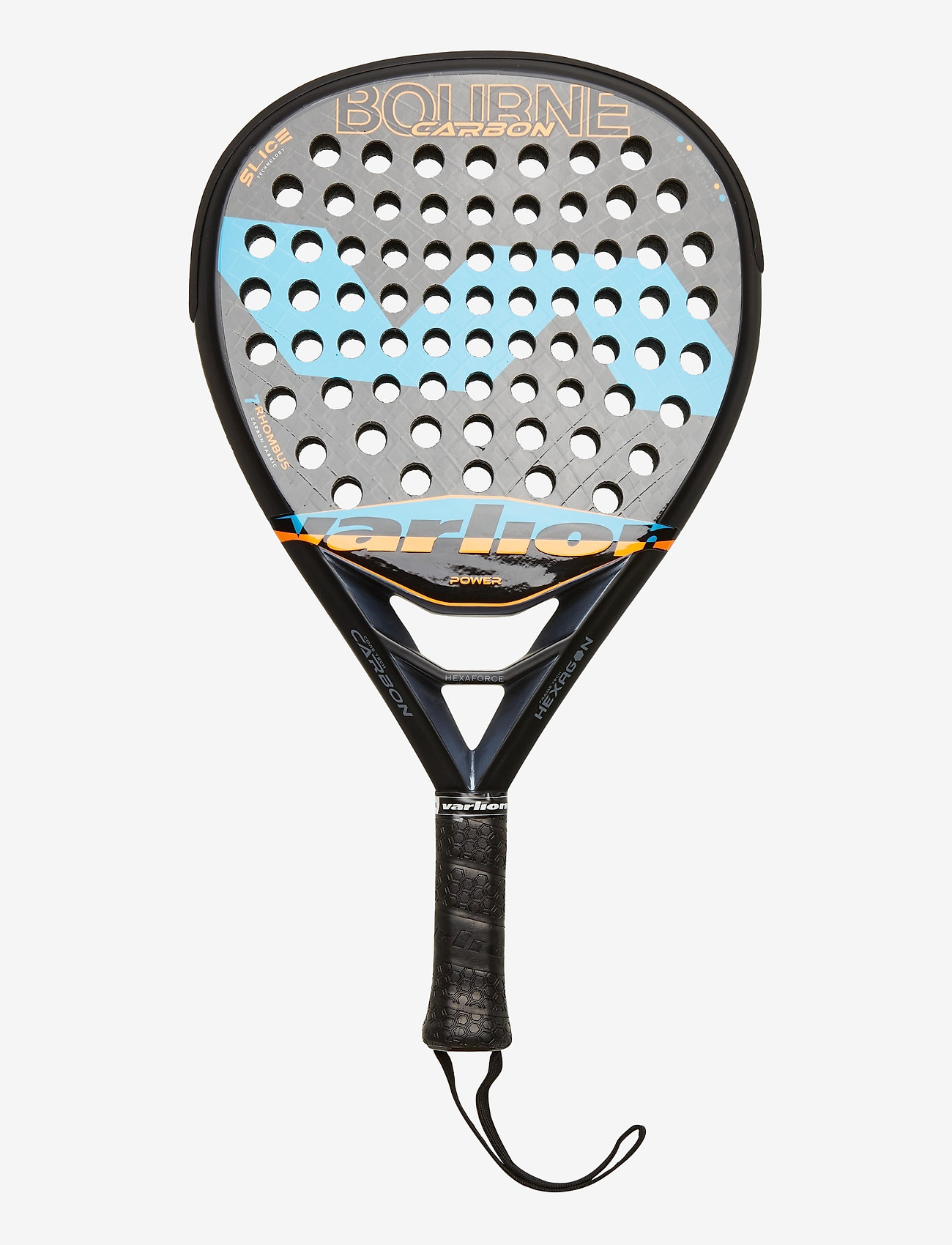 Varlion - Bourne Carbon - padel rackets - black/blue - 0