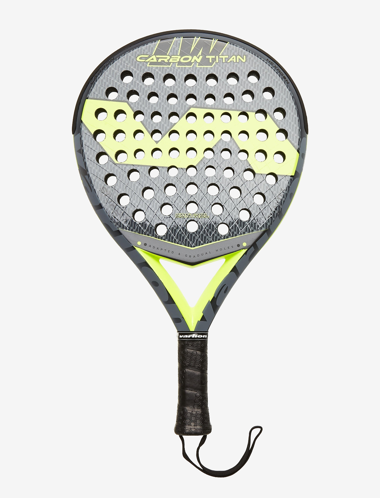 Varlion - LW Carbon Titan - padelketcher - black/yellow - 0