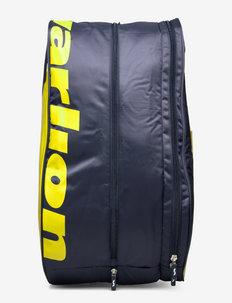 Padel racket bag Begins - ketsjersporttasker - grey/yellow