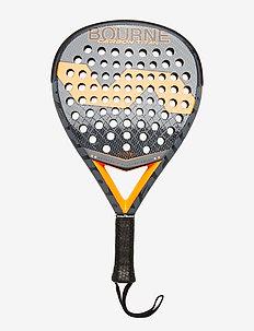 Bourne Carbon Titan - rakiety padel - grey /orange