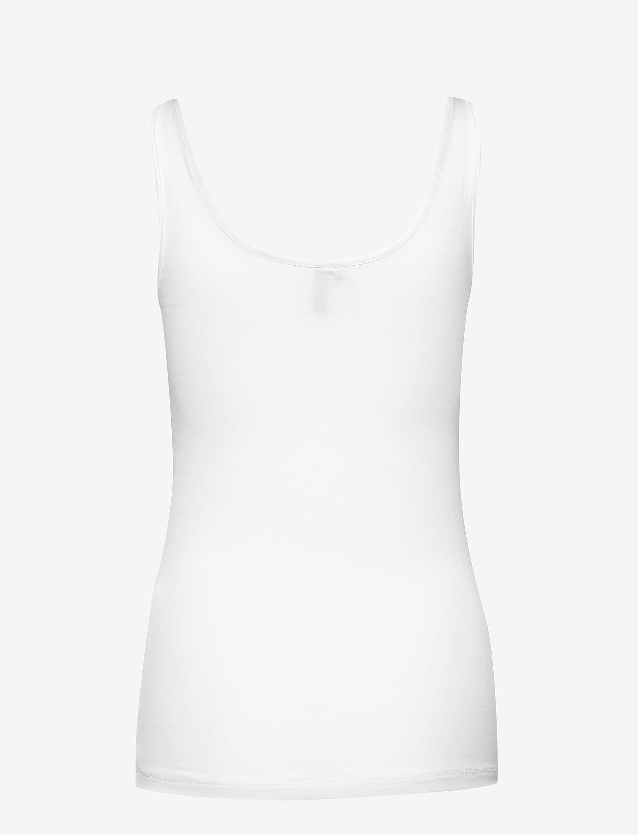 Vero Moda - VMMAXI MY SOFT UU TANK TOP GA - linnen - bright white - 1