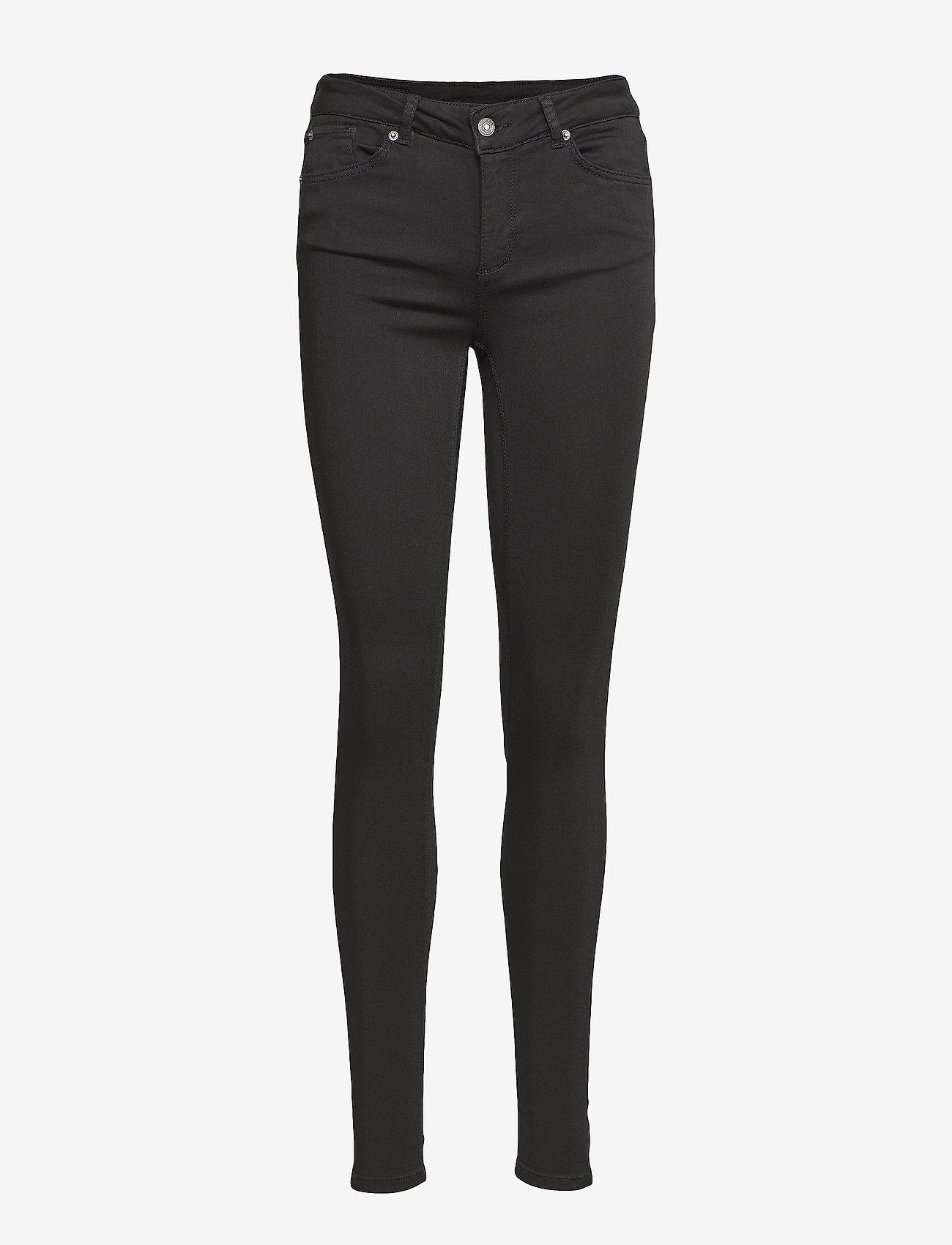 Vero Moda - VMLUX NW SUPER S JEANS BA037 GA - skinny jeans - black - 0