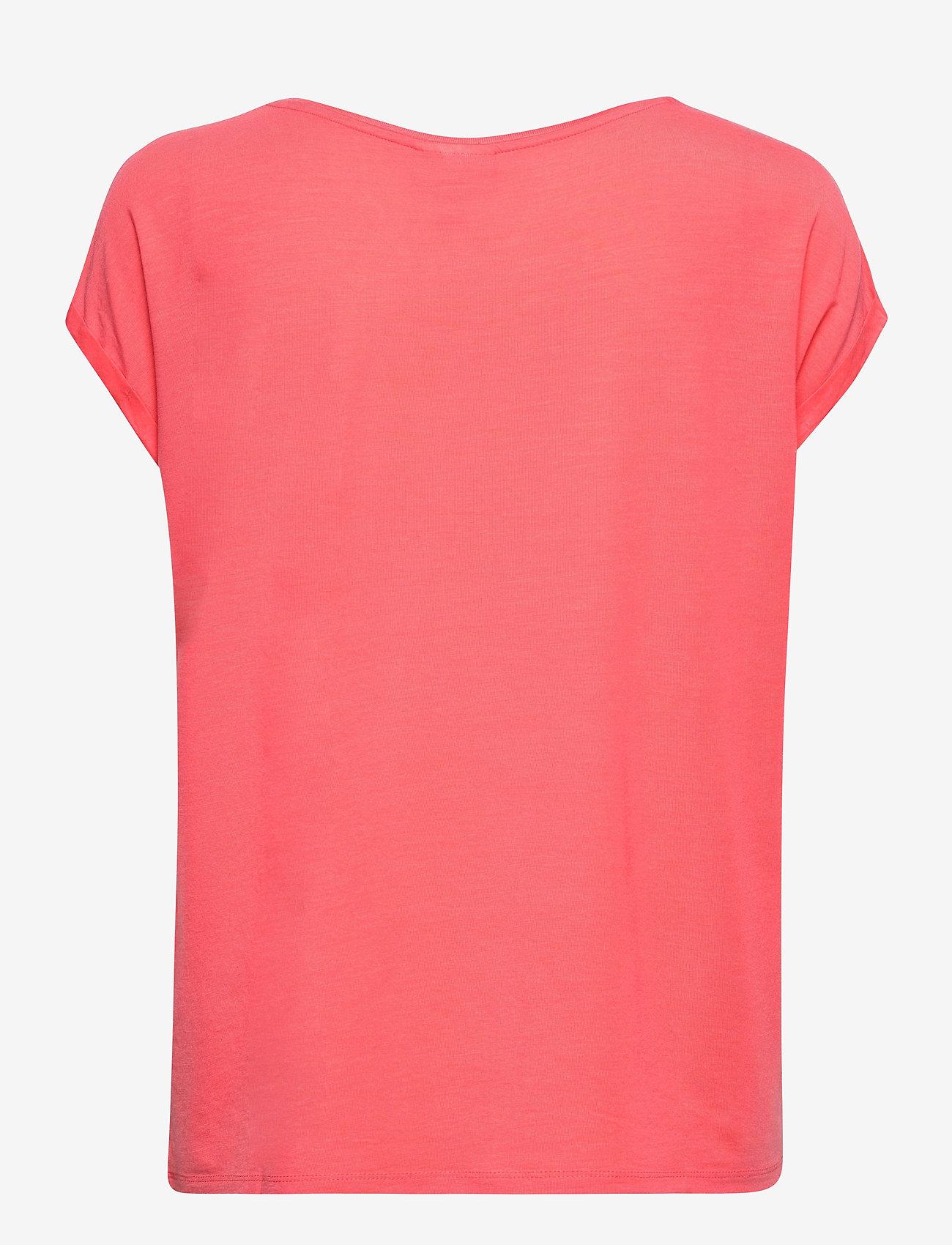 Vero Moda - VMAVA PLAIN SS TOP GA - t-shirts - dubarry - 1
