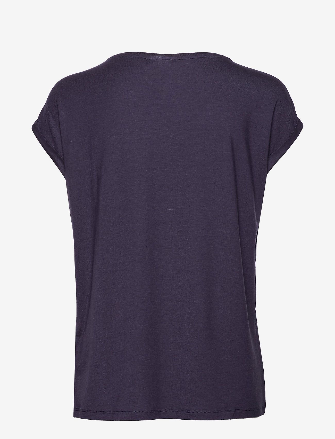 Vero Moda - VMAVA PLAIN SS TOP GA - t-shirts - night sky - 1