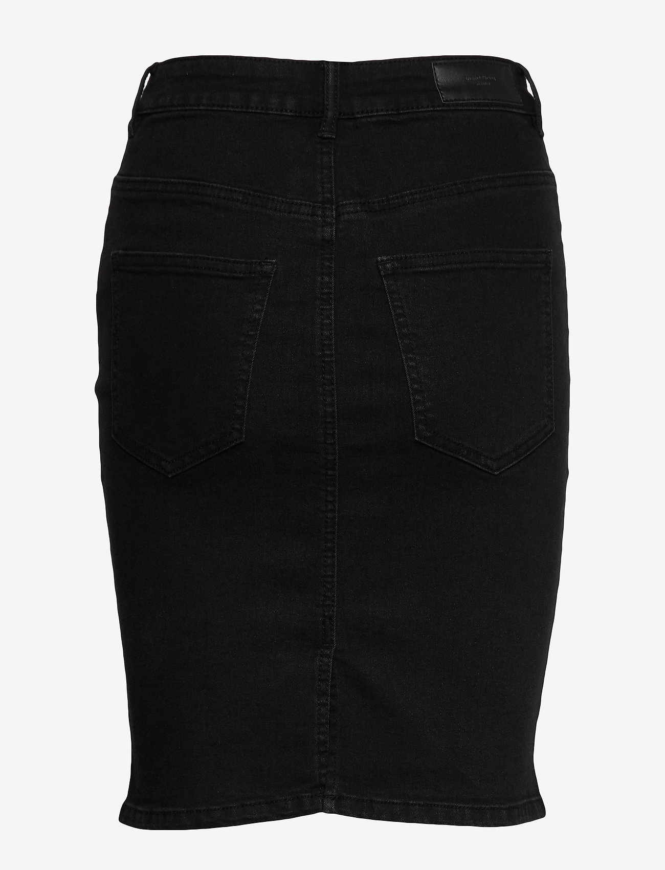 Vero Moda - VMHOT NINE HW DNM PENCIL SKIRT GA - jeanskjolar - black - 1