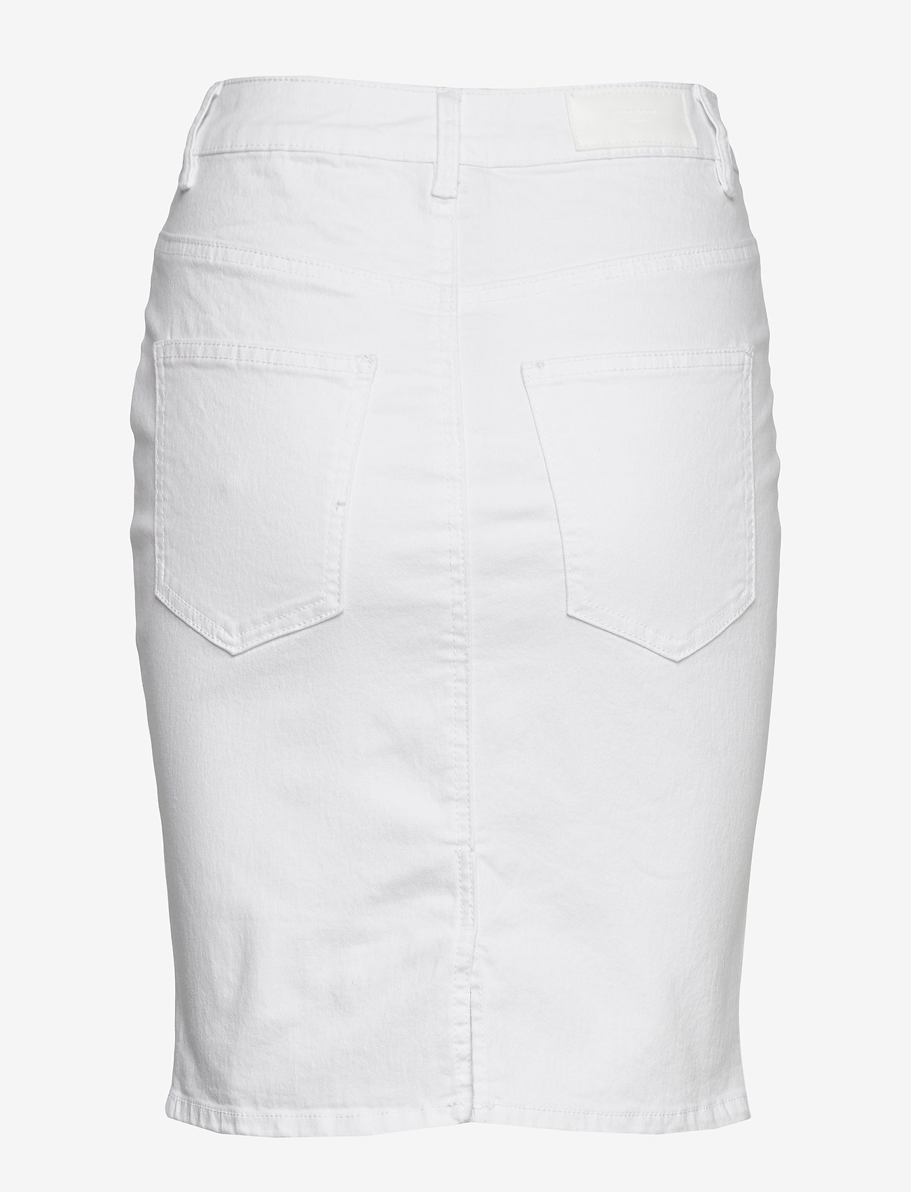 Vero Moda - VMHOT NINE HW DNM PENCIL SKIRT GA NOOS - jeanskjolar - bright white - 1