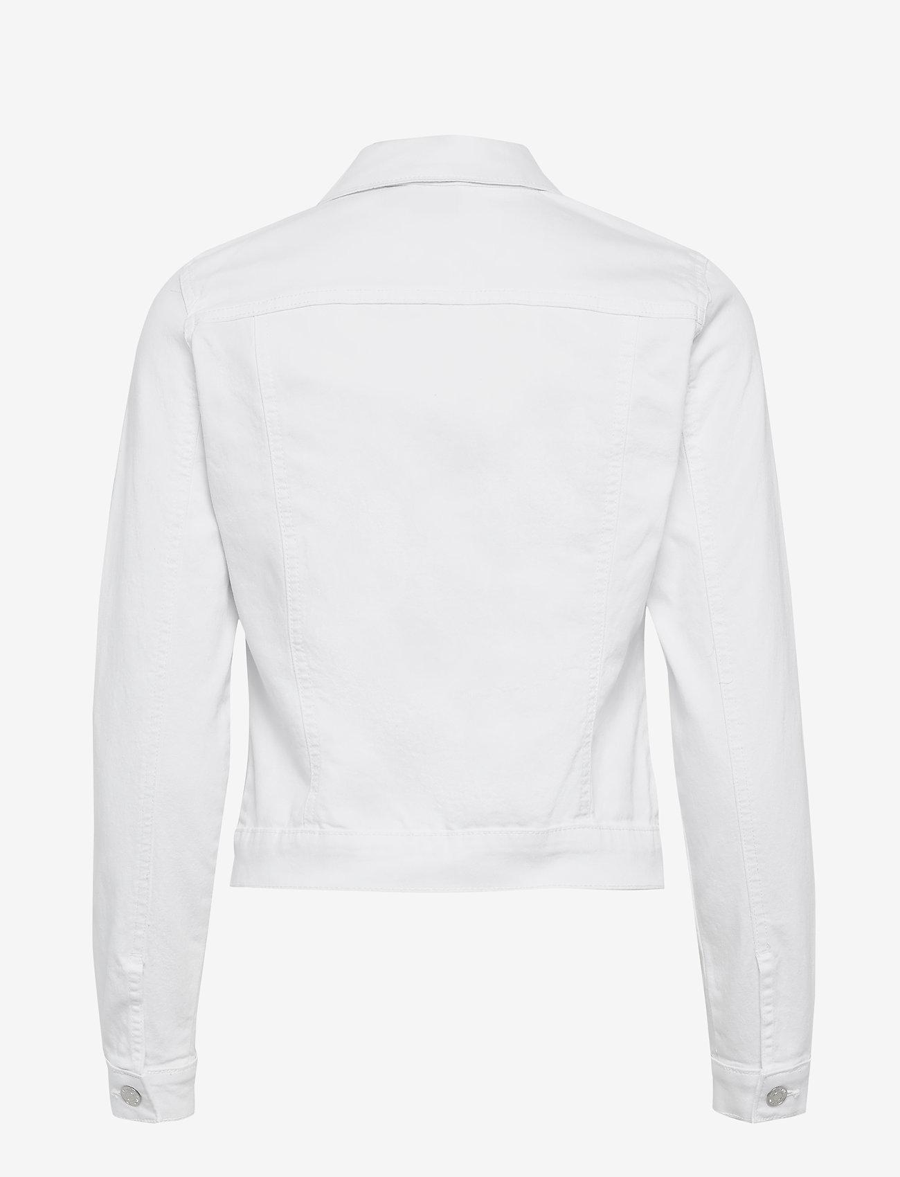 Vero Moda - VMHOT SOYA LS DENIM JACKET MIX GA - jeansjackor - bright white - 1