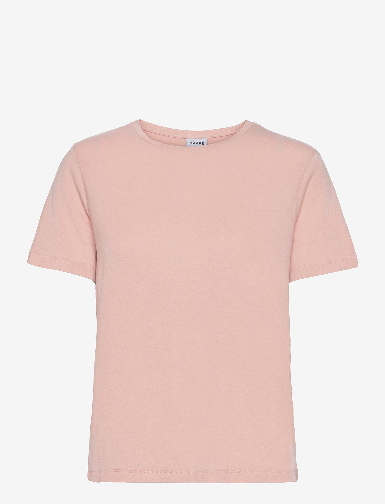 Vero Moda - VMAVA SS TOP VMA - t-shirts - rose dust - 0