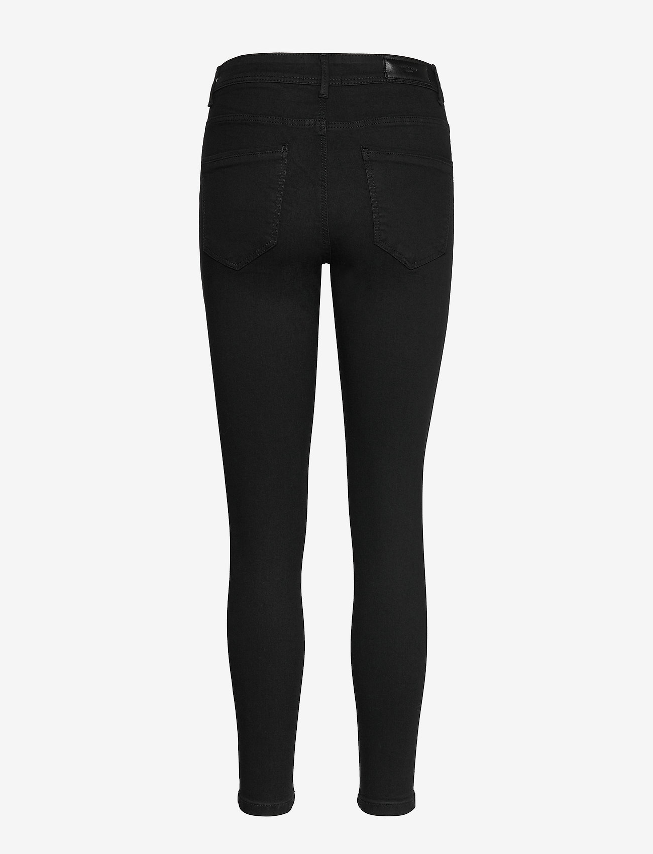 Vero Moda - VMTANYA MR S PIPING JEANS VI120 GA - skinny jeans - black - 1