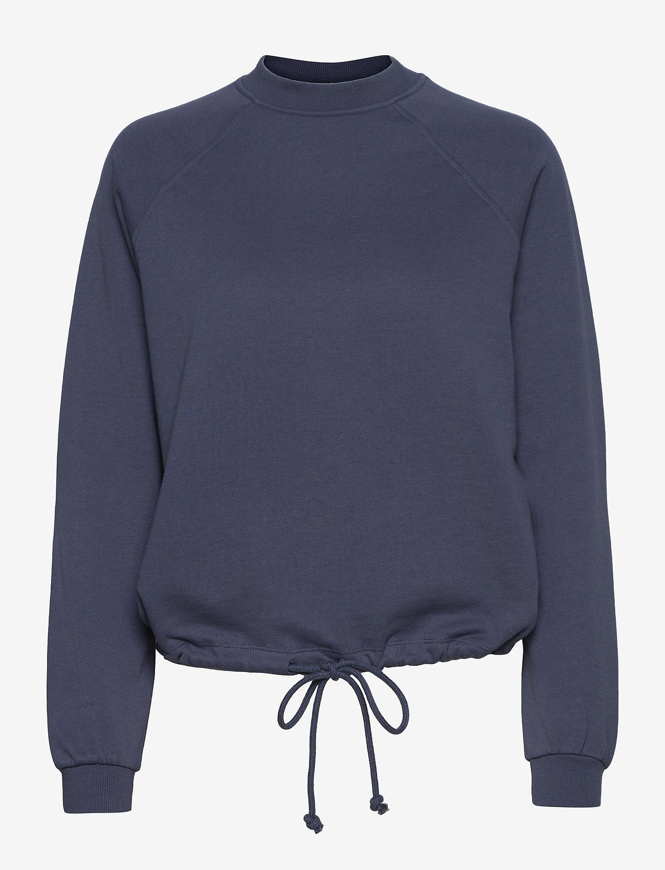 Vero Moda - VMKIRSA LS CREW NECK VMA - sweatshirts & hoodies - vintage indigo - 0