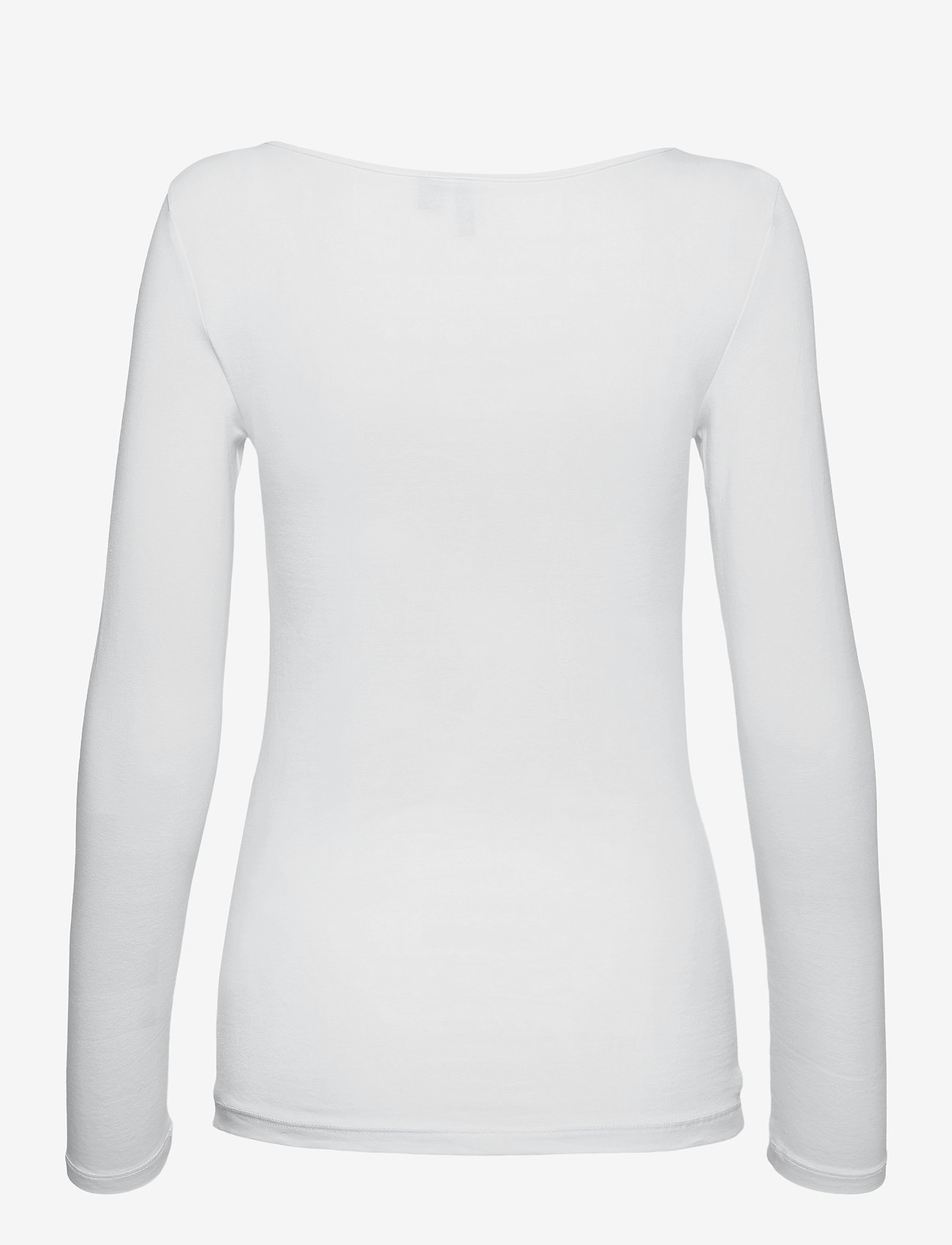Vero Moda - VMMAXI MY LS SOFT UNECK GA - långärmade toppar - bright white - 1